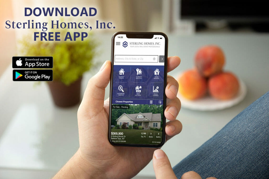 Download the Sterling Homes App